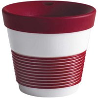 Kahla cupit - Magic Grip dark cherry To Go Becher 0,23 L mit Trinkdeckel 10x2 cm