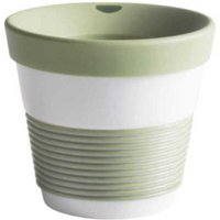 Kahla cupit - Magic Grip fresh herbs To Go Becher 0,23 L mit Trinkdeckel 10x2 cm