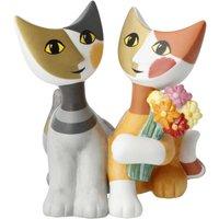 Goebel Rosina Wachtmeister - Rosinas Katzen Katzenwelt Katzen Mazzo di fiori h: 9,5 cm