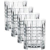 Nachtmann Square Whiskey Glas Set 4-tlg. 345 ml / h: 10,2 cm / d: 8,2 cm