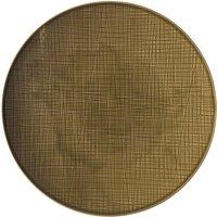 Image of Rosenthal Selection Mesh Walnut Teller flach 33 cm