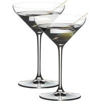 Riedel Gläser Extreme Martini / Cocktail Glas Set 2-tlg. 250 ccm / h: 175 mm