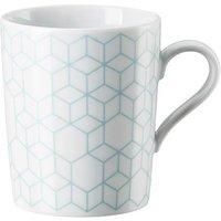 Arzberg Tric Vivid Bloom - Pattern celadon Becher mit Henkel 0,32 L