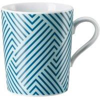 Arzberg Tric Vivid Bloom - Pattern blue Becher mit Henkel 0,32 L