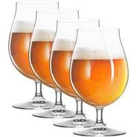 Spiegelau Gläser Beer Classics Biertulpe Glas 400 ml Set 4-tlg.