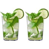 Eisch Secco Flavoured Mojito Becher Gläser in Geschenkröhre Set 2-tlg. / 550 ml