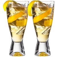 Eisch Secco Flavoured Biercocktail Gläser in Geschenkröhre Set 2-tlg. / 350 ml