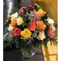 Dozen Deluxe Assorted Roses