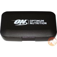 Optimum Nutrition Pill Box Black