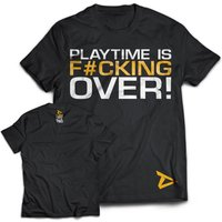 Playtime Is Over T-Shirt Large