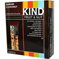 Kind Bars Fruit and Nut 12 Bars Almond and Coconut