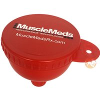 MuscleMeds Fill & Go Funnel - Red