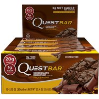 Quest Bars 12 Bars - Chocolate Brownie