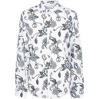 Beatles Prudence Print Shirt (Grey, XXL, Printed)
