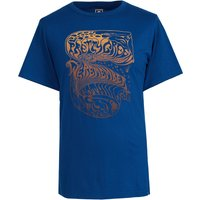 Remember Nothing T-Shirt (Blue, XS, Printed)