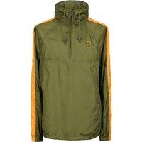 Overhead Hooded Jacket (Khaki, L, Jackets)