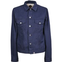Button Up Jacket (Navy, XL, Jackets)