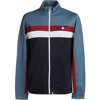 Contrast Panel Track Top (Blue, S, Track top)