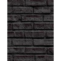 'Black Brick Wallpaper - Arthouse 623007