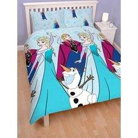 'Disney Frozen Lights Double Duvet Cover And Pillowcase Set