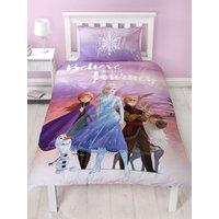 'Disney Frozen 2 Journey Single Duvet Cover Set