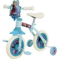 'Disney Frozen 2 Ten Inch 2 In 1 Training Bike