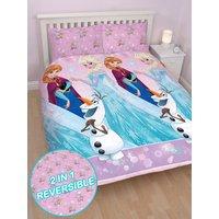 'Disney Frozen Magic Double Duvet Cover And Pillowcase Set