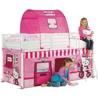 'Hello Kitty Mid-sleeper Cabin Bed Tent Pack