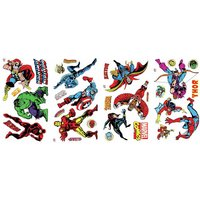 'Marvel Comics Room Decor Wall Sticker Kit
