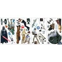 'Star Wars Room Decor Wall Sticker Kit