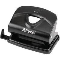 Rexel V220 Value 2-Hole Metal Punch 20 Sheet (Black)