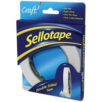 Sellotape Double Sided Tape 12mm x 33m (Pack of 12)