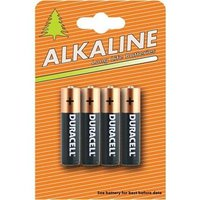 Duracell Plus Power (AAA) Battery Alkaline 1.5V Pack of 4