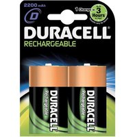 Duracell Rechargeable (2200mAH) D Battery (1 x Pack of 2)