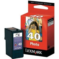 Lexmark No.40 Photo Colour Original Ink Cartridge (18Y0340E)