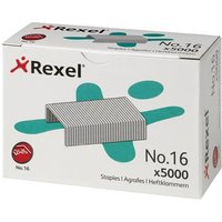 Rexel No.16 6mm Staples (1 x Box of 5000 Staples)