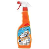 Mr Muscle 5-in-1 Bathroom & Toilet Cleaner (500ml)