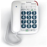 BT Big Button 200 Corded Telephone (White)