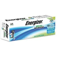 Energizer EcoAdvanced (AA) Alkaline Batteries (Pack of 20 Batteries)