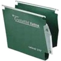 Rexel Premium Manilla Hanging Folders (Green) Pack of 25