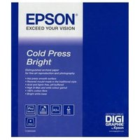 Epson S042310 Cold Press Bright Inkjet Photo Paper A3+ 340gsm (25 sheets)