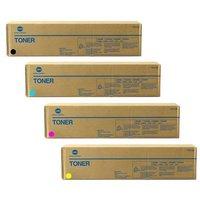 Konica Minolta 171-0551-100 Original Multi Pack(B/C/M/Y) Laser Toner Cartridges