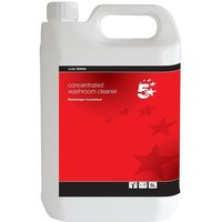 5 Star (5 Litre) Washroom Dilutable Cleaner