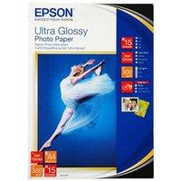 EPSON 13 x 18cm ULTRA GLOSSY PHOTO PAPER SHIPPER BOX PK 50