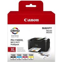 Canon PGI-1500XL BK/C/M/Y Original High Capacity Multipack Ink Cartridges