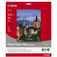 Canon SG-201 Semi-Gloss Photo Paper 10x12 / 25x30 mm 260gsm (20 sheets)