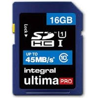 Integral UltimaPro 16GB SDHC Class 10 Memory Card