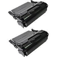 TWIN PACK: Lexmark T650A11E Black Remanufactured Toner Cartridge