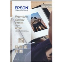 Epson Premium Glossy Photo Paper 255gsm (13 x 18cm) 1 x Pack of 30 Sheets