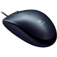 Logitech M100 Corded Optical Mouse (Black)